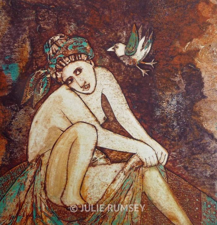 'The Bather & the Bird'