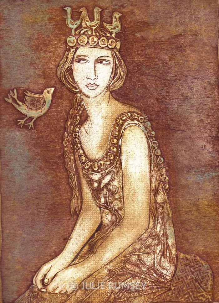 'The bird goddess'