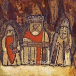 The Lewis Chessmen - Plate