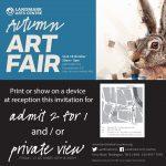 Landmark Autumn Art Fair 2017 Invitation